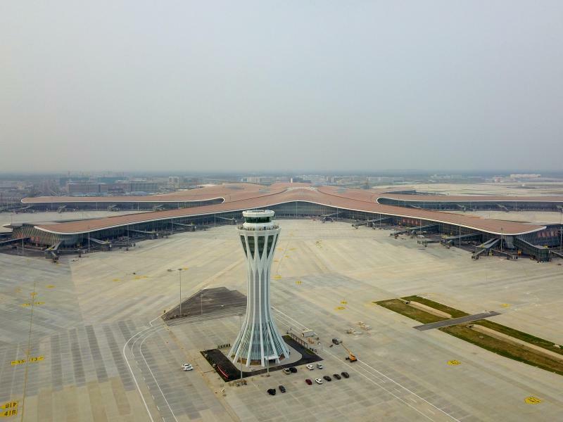 Flughafen Peking-Daxing - Foto: Zhang Chenlin/XinHua