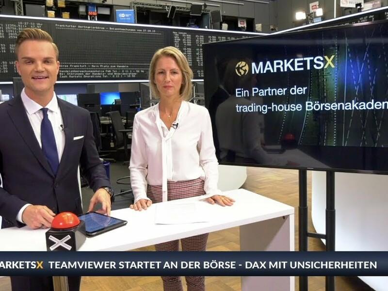 Über zwei Milliarden Euro hat TeamViewer diese Woche an der Frankfurter Börse eingesammelt. Die Aktie verliert aber deutlich - wieso? Sissi Hajtmanek und Manuel Koch schauen auf den Börsenneuling, die Marktlage und stellen bei Inside MarketsX zwei konkrete TOP-Aktien-Empfehlungen vor. Diese Woche: Munich Re und TUI. Mehr Infos auf www.trading-house.de/marketsx/ - Foto: anlegerverlag.de
