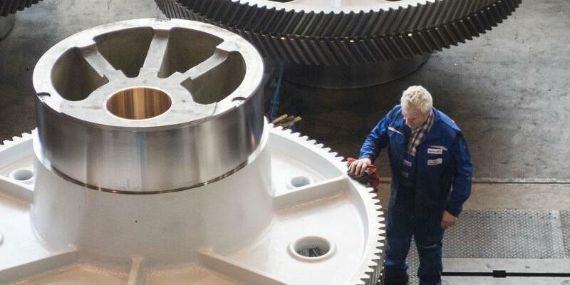 Maschinenbau - Foto: Marijan Murat/dpa