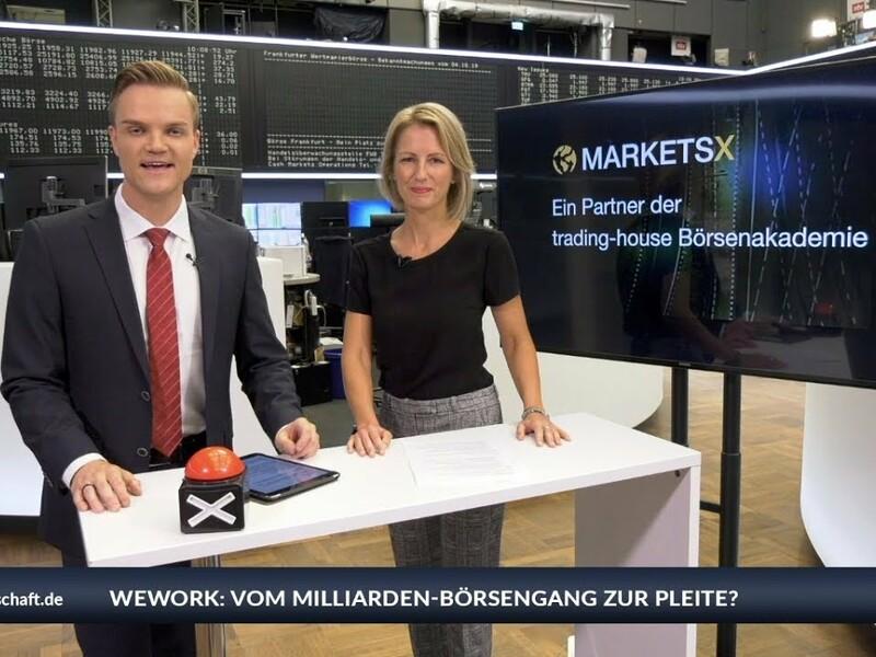 Gerade noch sollte WeWork mit einer Bewertung von 47 Milliarden USD an die Börse gehen, jetzt steht der Co-Working-Anbieter womöglich vor der Pleite. Sissi Hajtmanek und Manuel Koch schauen bei Inside Markets zudem auf die Top-Aktien-Empfehlung: Deutsche Post. Und wie steht es um Gold? Mehr Infos auch auf www.trading-house.de/marketsx/ - Foto: anlegerverlag.de