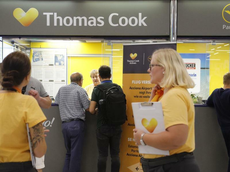 Insolvenz Thomas Cook - Foto: Clara Margais/dpa