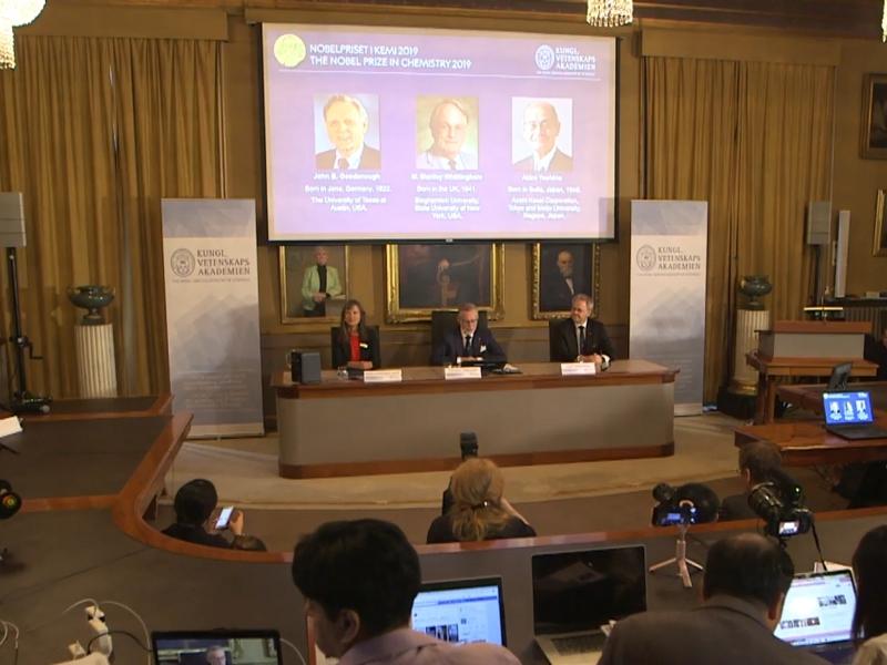 Bekanntgabe Chemie-Nobelpreis am 09.10.2019 - Foto: über dts Nachrichtenagentur