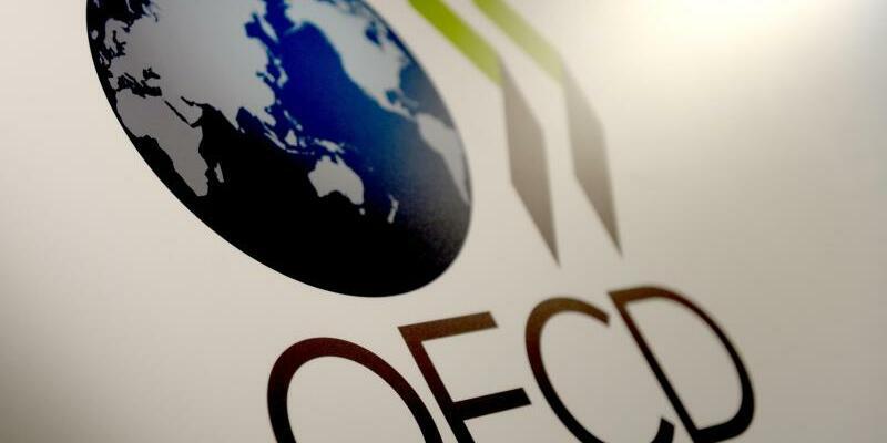OECD-Logo - Foto: Britta Pedersen/dpa-Zentralbild/dpa