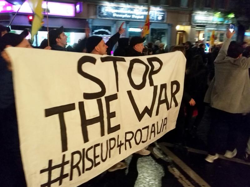 Anti-Erdogan-Protest am 10.10.2019 in Berlin - Foto: über dts Nachrichtenagentur