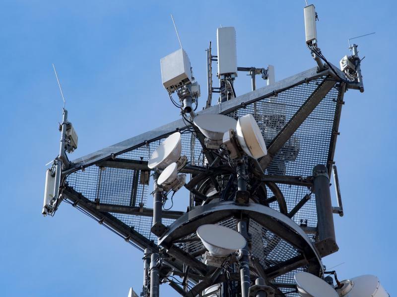 Mobilfunkmast - Foto: Hendrik Schmidt/zb/dpa
