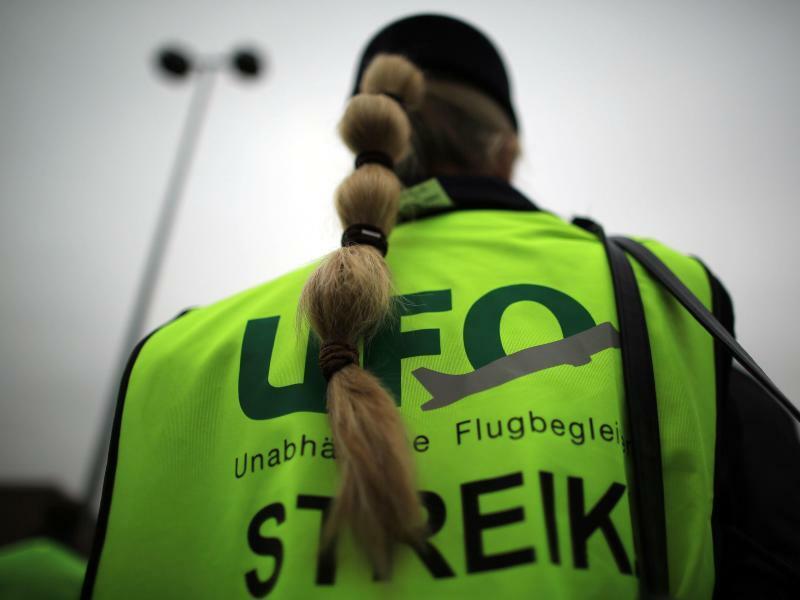 Gewerkschaft Ufo - Foto: Oliver Berg/dpa