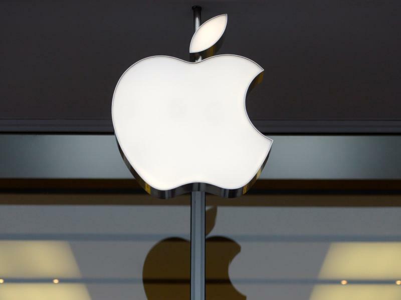 Apple - Foto: Shawn Thew/EPA FILE/dpa