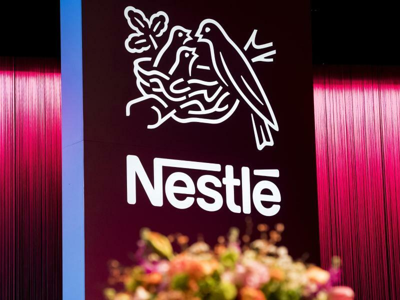 Nestlé - Foto: Jean-Christophe Bott/KEYSTONE/dpa