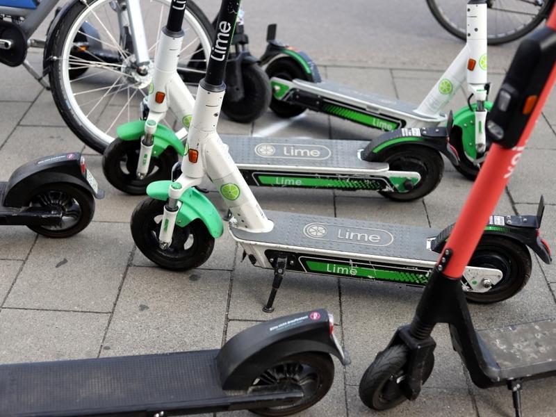 E-Scooter von Lime - Foto: über dts Nachrichtenagentur