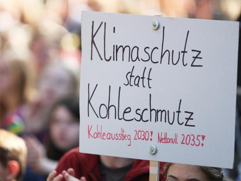 Protest von Fridays-For-Future - Foto: über dts Nachrichtenagentur