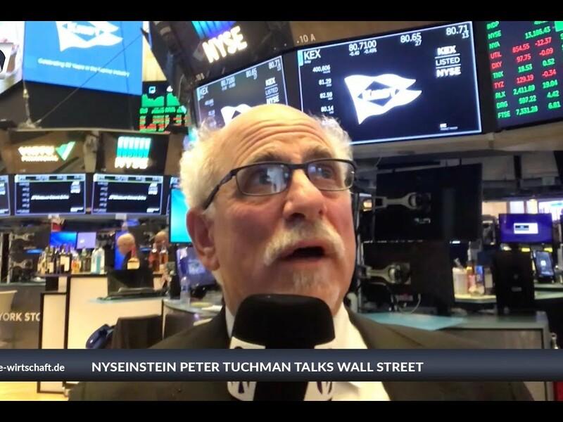 ?Der S&P 500 erreicht einen neuen Höchststand?, NYSEinstein Peter Tuchman berichtet aus New York. - Foto: anlegerverlag.de