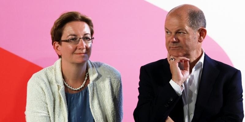 Klara Geywitz und Olaf Scholz - Foto: über dts Nachrichtenagentur