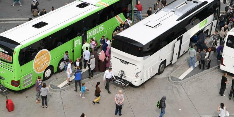 Fernbusse - Foto: Arne Dedert/dpa