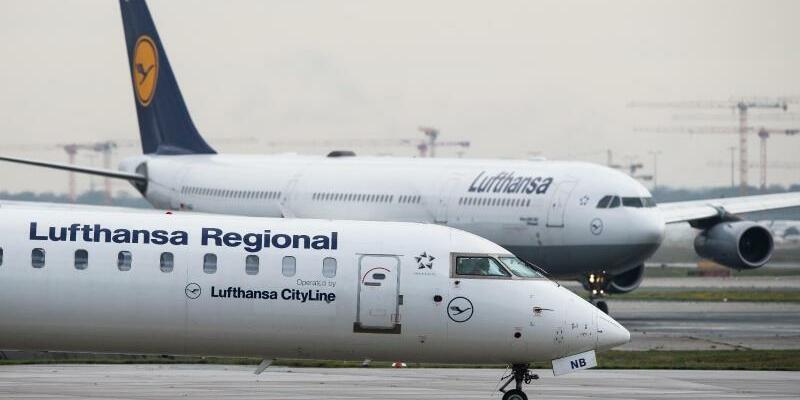 Lufthansa-Maschinen - Foto: Silas Stein/dpa
