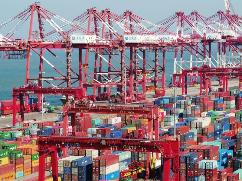 Welthandel - Foto: Yu Fangping/SIPA Asia via ZUMA Wire/dpa