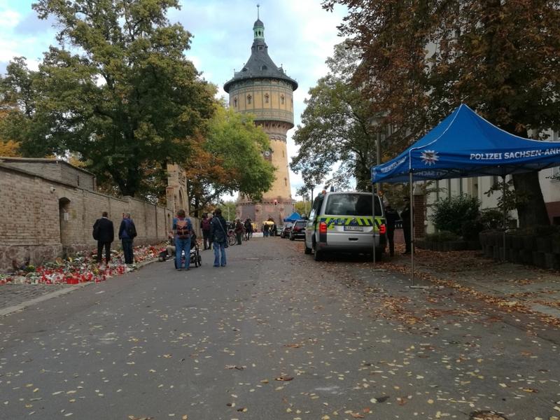 Trauer nach Anschlag in Halle - Foto: über dts Nachrichtenagentur