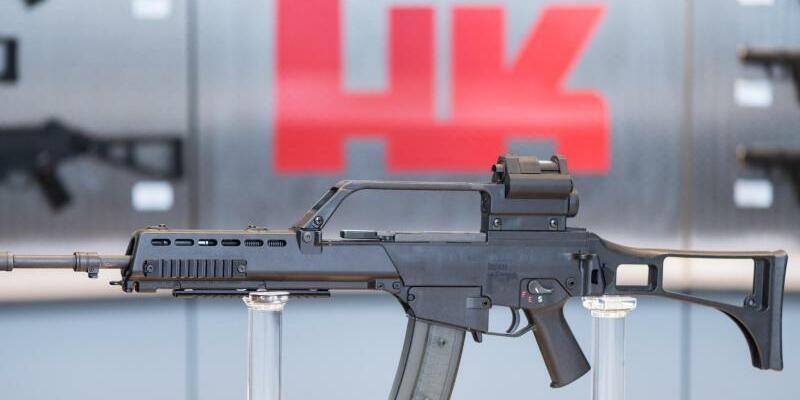 Waffenhersteller Heckler & Koch steht zumVerkauf - Foto: Patrick Seeger/dpa