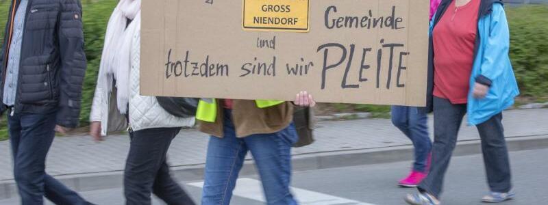 Protest - Foto: Jens Büttner/zb/dpa
