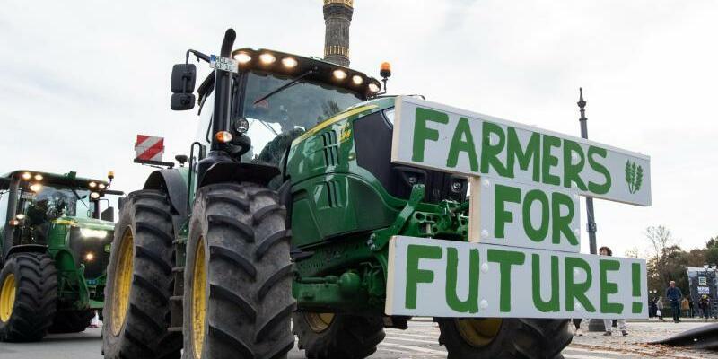Farmers for Future - Foto: Bernd von Jutrczenka/dpa