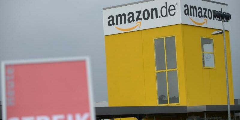 Amazon-Logistik-Zentrum - Foto: Uwe Zucchi/dpa