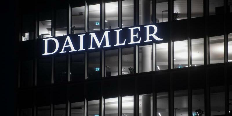 Daimler - Foto: Marijan Murat/dpa