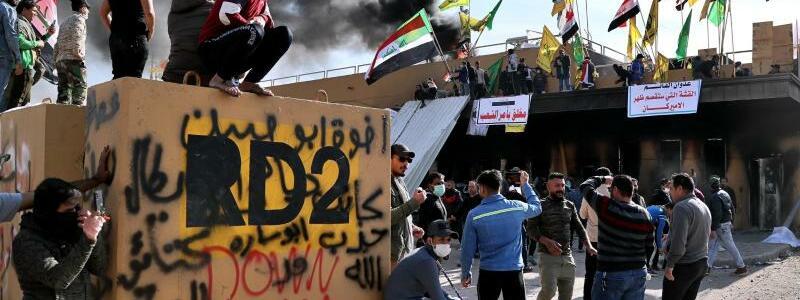 Auseinandersetzungen - Foto: Khalid Mohammed/AP/dpa