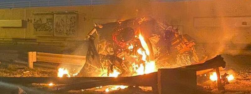 Raketenangriff auf Ghassem Soleimani - Foto: Iraqi Prime Minister Press Office/dpa