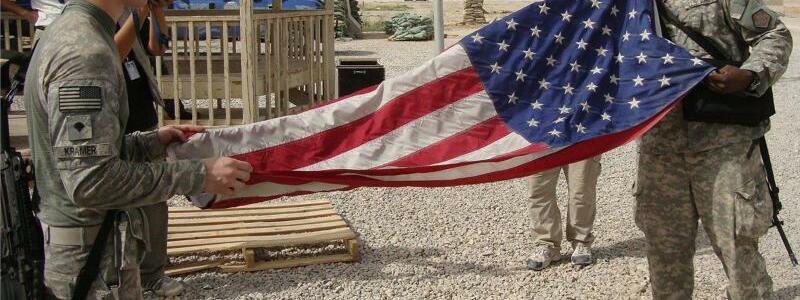US-Soldaten im Irak - Foto: Khider Abbas/epa/dpa