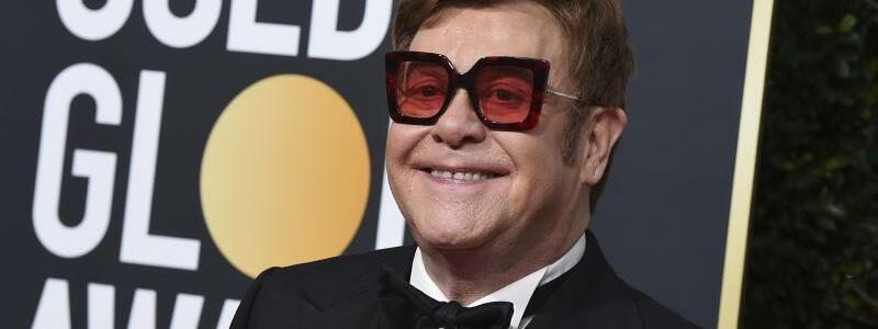 Golden Globes - Elton John - Foto: Jordan Strauss/Invision/AP/dpa