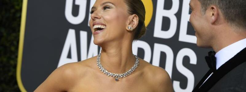 Golden Globes - Johansson + Jost - Foto: Kevin Sullivan/ZUMA Wire/dpa