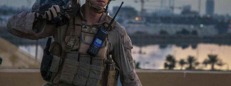 US-Soldat - Foto: Sgt. Kyle Talbot/Special Purpose Marine Air-Ground Task Force Crisis Response - Central Command/AP/dpa