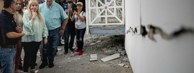 Ortstermin - Foto: Carlos Giusti/AP/dpa