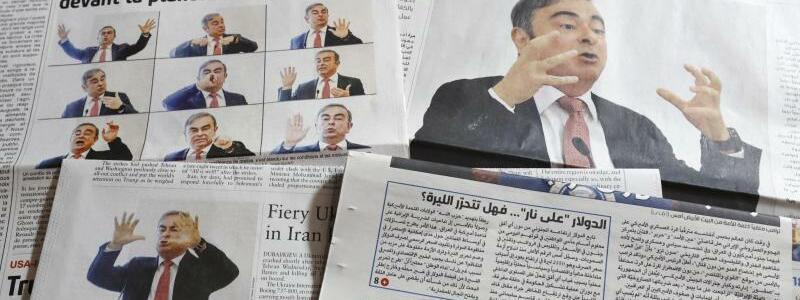 Zeitungen in Beirut - Foto: -/kyodo/dpa