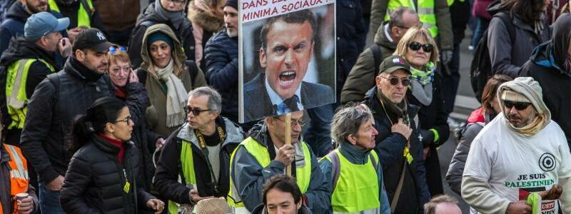 Streiks in Frankreich - Foto: Sadak Souici/Le Pictorium Agency/ZUMA/dpa