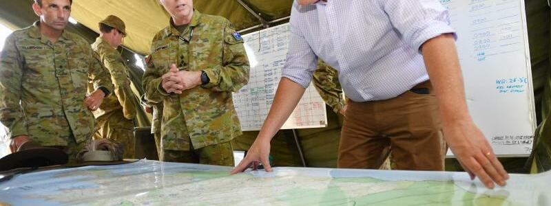 Premierminister Morrison - Foto: David Mariuz/AAP/dpa