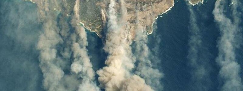 Buschbränden auf Känguru-Insel - Foto: Nasa Earth/ZUMA Wire/dpa
