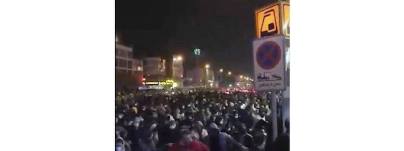 Proteste - Foto: Uncredited/Center for Human Rights in Iran via AP/dpa