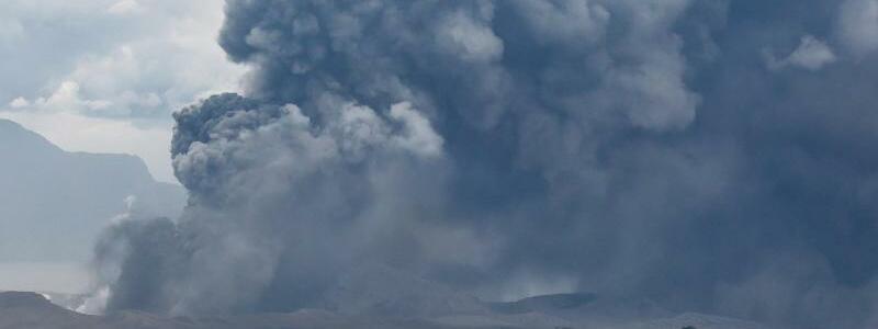 Vulkanausbruch auf den Philippinen - Foto: Rouelle Umali/XinHua/dpa