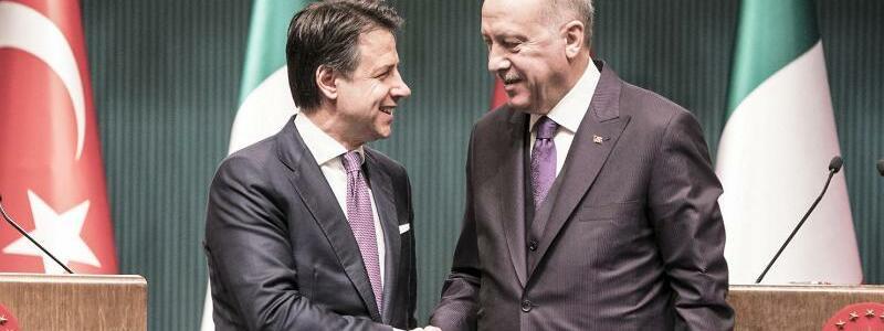 Türkisch-italienische Gespräche - Foto: Filippo Attili/Gov