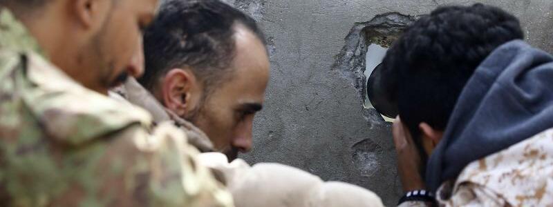 Verteidigung von Tripolis - Foto: Hamza Turkia/XinHua/dpa