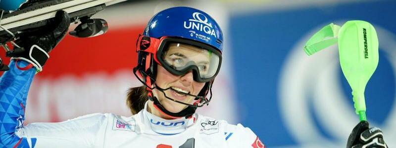 Petra Vlhova - Foto: Georg Hochmuth/APA/dpa