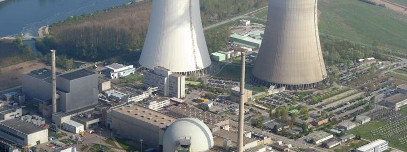 Kernkraftwerk Philippsburg - Foto: Uli Deck/dpa