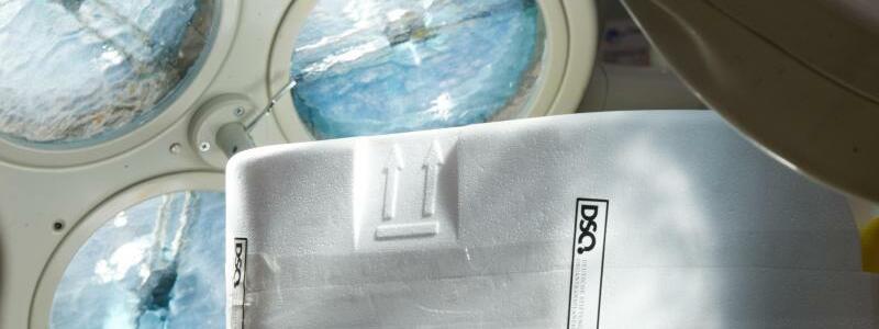 Transportbehälter - Foto: Soeren Stache/dpa