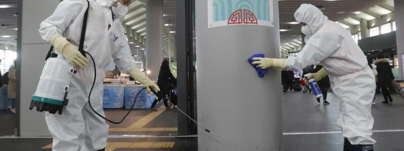 Vorsichtsmaßnahmen in Südkorea - Foto: Ahn Young-Joon/AP/dpa