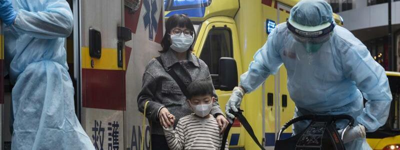 Einsatz in Hongkong - Foto: Miguel Candela/SOPA Images via ZUMA Wire/dpa