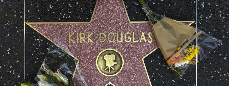 Kirk Douglas - Foto: Damian Dovarganes/AP/dpa