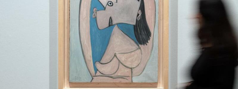 Ausstellung Pablo Picasso. Kriegsjahre 1939 bis 1945 - Foto: Federico Gambarini/dpa