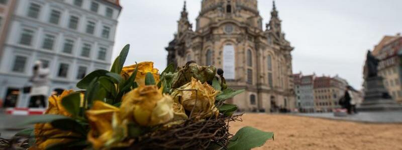 Frauenkirche - Foto: Robert Michael/dpa-Zentralbild/dpa