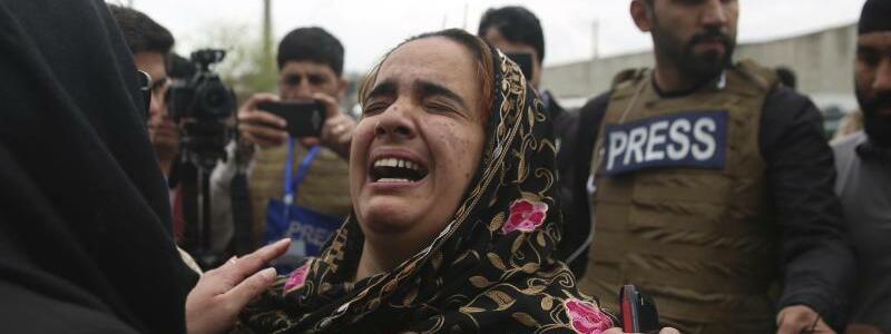Tiefe Trauer - Foto: Rahmat Gul/AP/dpa
