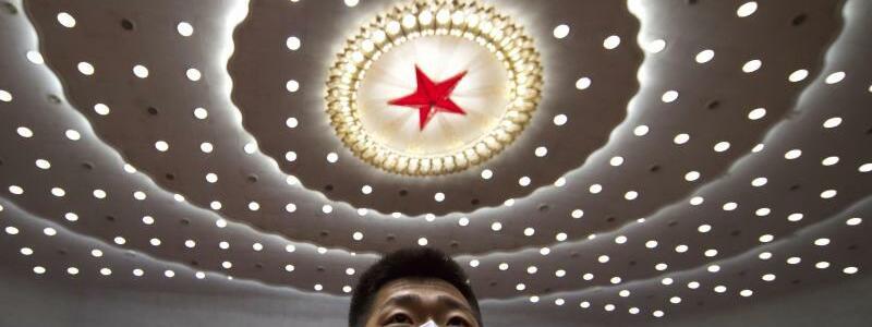 Roter Stern - Foto: Ng Han Guan/AP POOL/dpa